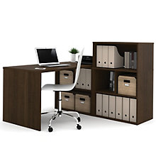 i3 Desk and Open Storage Set, 8802214