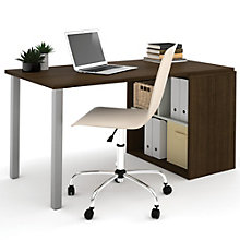 i3 Metal Leg Compact Desk With Storage, 8802216