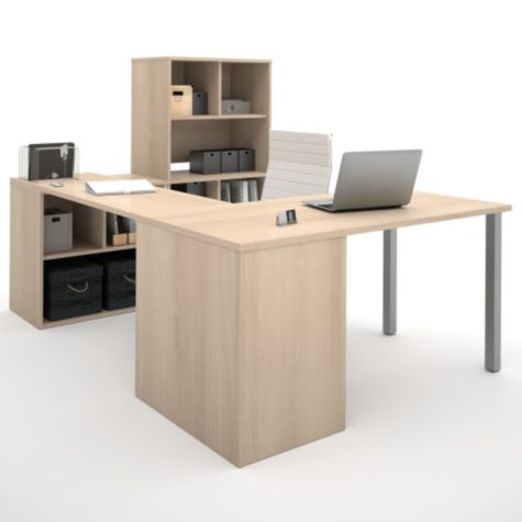 Multiple Cubbies Provide Ample Storage Space