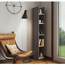 """Small Space 5 Shelf Bookcase - 10""""W, 8827655"""