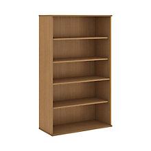 """Five Shelf Bookcase- 66""""H, 8808118"""