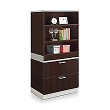 "68.5""H Bookcase and Lateral File Set, 8808211"