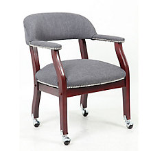 Widmore Mobile Fabric Captain's Chair, 8804130