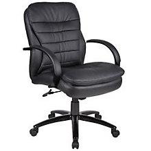 Habanera Conference Chair with Black Frame, BOC-AHAB62B-BK