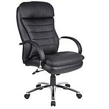 Habanera Executive Chair with Chrome Frame, BOC-AHAB72C-BK