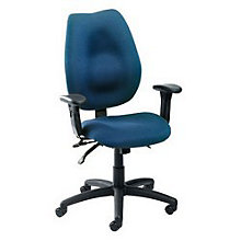 Fabric Task Chair with Seat Slider, BOC-B1002-SS
