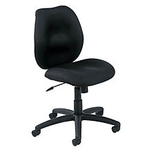 Armless Mid-Back Fabric Task Chair, 8803525