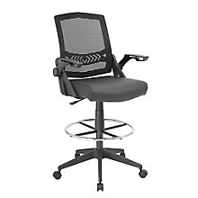 Flip Arm Mesh Drafting Stool, 8828635