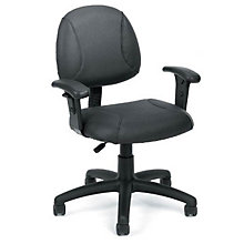 Sawyer Task Chair in Bonded Leather , 8803544