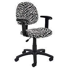 Microfiber Task Chair with Arms, 8803550