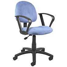 Microfiber Task Chair with Loop Arms, 8803551
