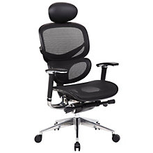 High Back Task Chair with Headrest in Mesh, 8806908
