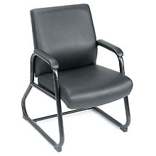 Vinyl Heavy Duty Big and Tall Guest Chair, 8803628