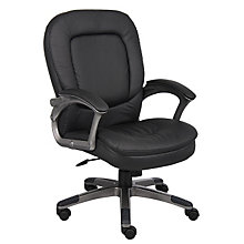 Abaddon Vinyl Desk Chair, 8803630