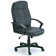 Phillips High-Back Executive Chair in Bonded Leather , 8803643