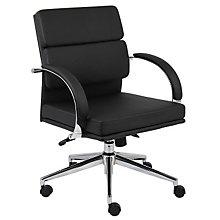 Rousseau Modern Vinyl Desk Chair, 8803656