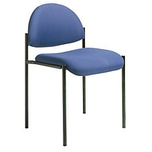 Rounded Back Armless Stacking Chair, 8802408