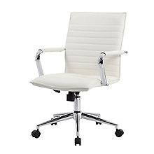 Wyatt Faux Leather Task Chair , 8828643