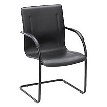 Vinyl Sled Base Side Chair, 8803683