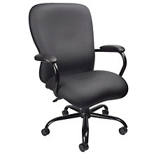 Big and Tall Executive Chair in Faux Leather, 8806916