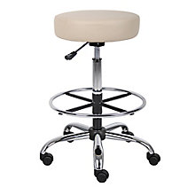 Medical Vinyl Backless Stool with Foot Ring, 8813885