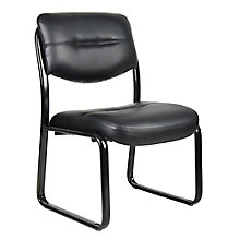 Dorrit Armless Bonded Leather Guest Chair, 8813893