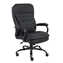 Abaddon Faux Leather Big and Tall Executive Chair, 8813894
