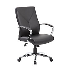 Whitwick Bonded Leather Conference Chair, 8814113