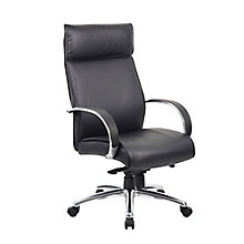 Peck High Back Conference Chair with Aluminum Arms, 8814117