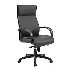 Peck High Back Conference Chair with Polyurethane Arms, 8814119