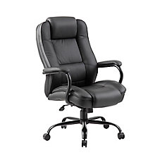 Roxton Big and Tall Bonded Leather Chair - 400 lb Weight Capacity, 8814125