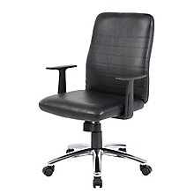 Retro Task Chair in Vinyl, 8807845