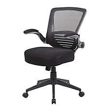 Mid Back Task Chair with Flip Arms in Mesh, 8807849