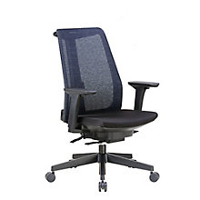 High Back Task Chair with Adjustable Height Arms in Mesh, 8807851