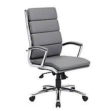 Contemporary Task Chair in Vinyl, 8807854