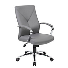 Contemporary Conference Chair in Vinyl, 8807856