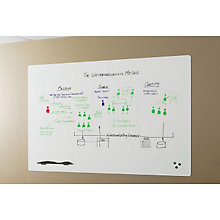 Peel and Stick Whiteboard - 6' x 4', BRT-10708