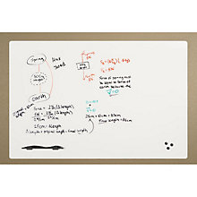 Peel and Stick Whiteboard - 8' x 4', BRT-10711