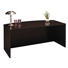 "Series C Bowfront Desk Shell - 71""W, BUS-WC46"