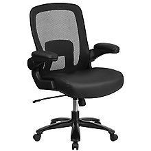 Big & Tall Leather Seat Chair, 8811706