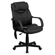 bonded leather office chair, 8811711