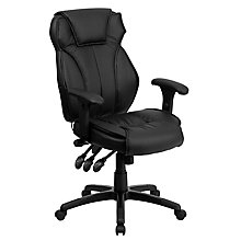 bonded leather office chair, 8811797