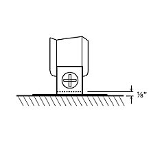 P-Series Wall Bracket for Panels, 8813587