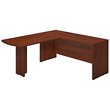 "Series C Elite Reversible L-Desk with Peninsula - 66""W, 8805309"