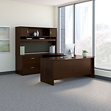 Series C U-Desk with Hutch - Left or Right Return, 8827110