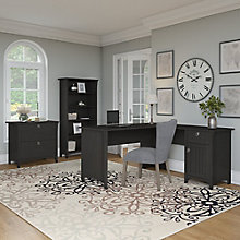 Salinas Three Piece L-Desk Office Set , 8827687