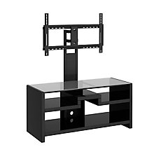 New York Skyline TV Stand with Removable TV Mounting Bracket, BUS-KI10107