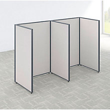 """66""""H Two Person Open Workstation Panel Set, 8805203"""
