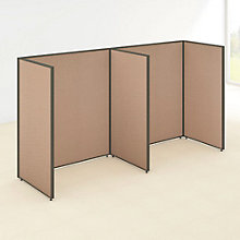 """66""""H Wide Two Person Open Workstation Panel Set, 8805204"""
