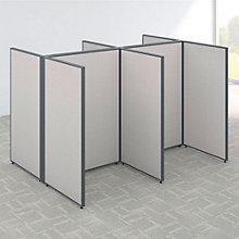 "66""H Four Person Open Workstation Panel Set, 8805205"